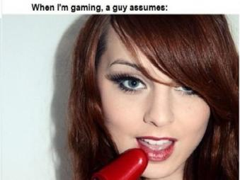 Related Pictures gamergirlGamer Girls Expectation Vs Reality